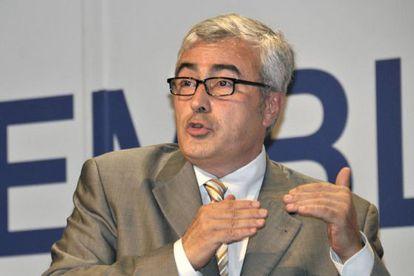 Josep Maria Matas, durante el congreso de la ACM celebrado en octubre pasado.