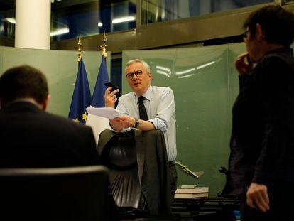 El ministro francés de Finanzas, Bruno Le Maire