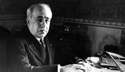 El presidente de la República Manuel Azaña, en una imagen sin datar.