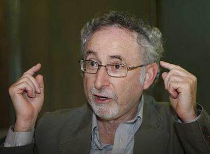 Richard J. Haier, ayer en CaixaForum, en Madrid.