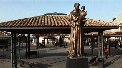 La fachada de la Universidad Católica de Murcia.
