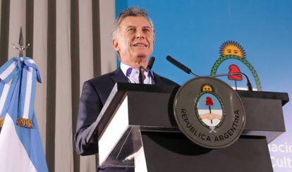 El presidente argentino, Mauricio Macri, en una fotografía de archivo.