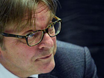 El presidente de la Conferencia sobre el futuro de Europa, Guy Verhofstadt.