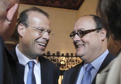 José Luis Pego y Javier García de Paredes, dos de los exdirectivos denunciados.