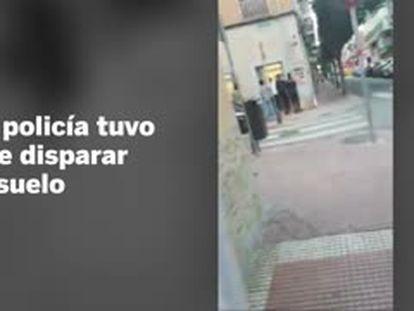Detenido un hombre que entró con una pistola simulada a una peluquería