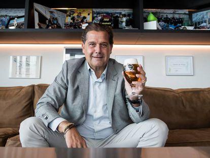 Ignacio Rivera, consejero delegado de Estrella Galicia, en su despacho en A Coruña.