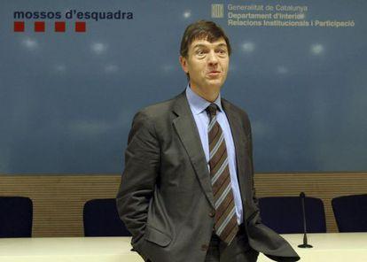 Joan Delort, exgerente de la Guardia Urbana de Barcelona.