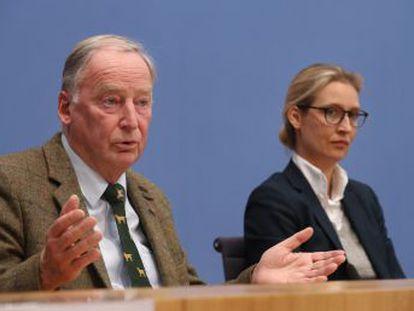 El partido ultraderechista defiende la familia germana frente a los inmigrantes y al islam