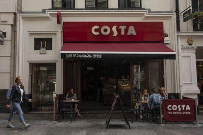 Un local de Costa en Londres