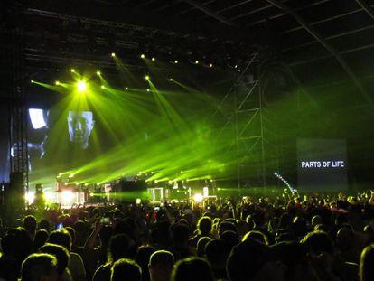 Paul Kalkbrenner en el Mad Cool en el escenario que debió tocar Massive Attack.