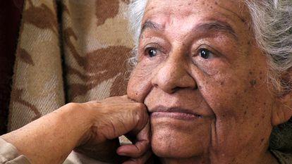 Maria Dionisia Navarro o Mama Icha,  la protagonista del documental.