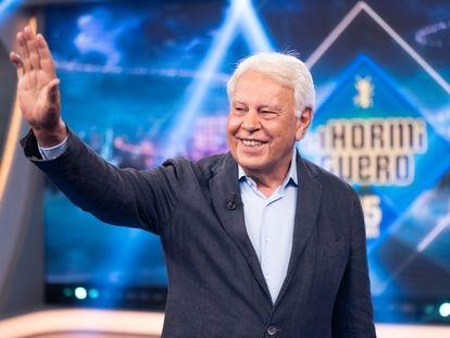 Felipe González, en 'El Hormiguero'.