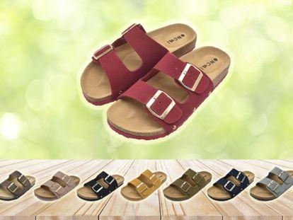 Estas sandalias resultan tan cómodas que se pueden llevar durante todo el día sin que sufran los pies.