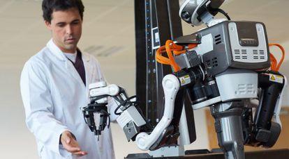 Robot humanoide para la industria de la automoción.