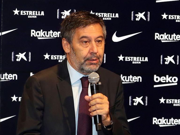 Josep Maria Bartomeu, president of FC Barcelona.