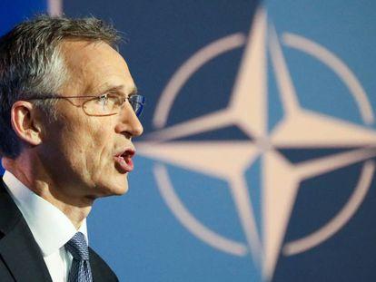 Jens Stoltenberg, el secretario general de la OTAN, en Bruselas.