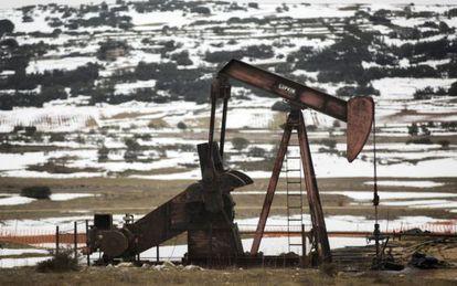 Explotación de petróleo en Sargentes de Lora, en Burgos.