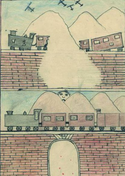Dibujo titulado Residencias infantiles.