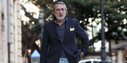 Francisco Correa, en Valencia, el pasado noviembre.