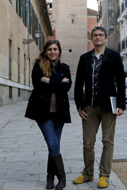 Victoria Anderica y David Cabo, promotores de Tuderechoasaber.
