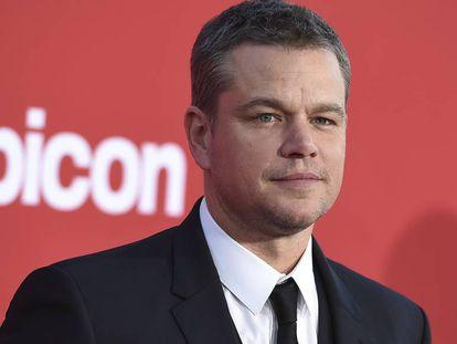 El actor Matt Damon.