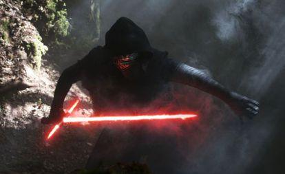 Fotograma de 'El despertar de la Fuerza'.