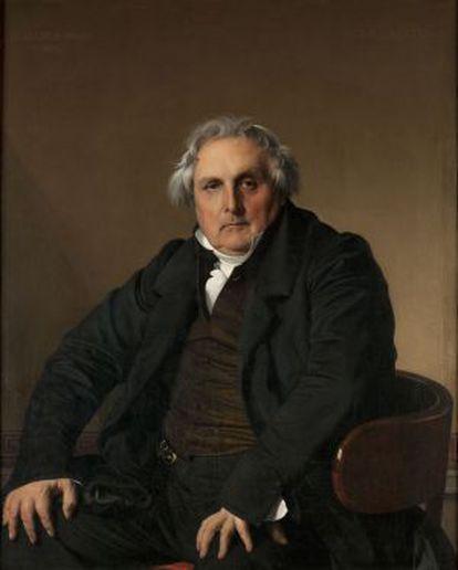 'Retrato de Louis-François Bertin', 1832. Museo del Louvre.