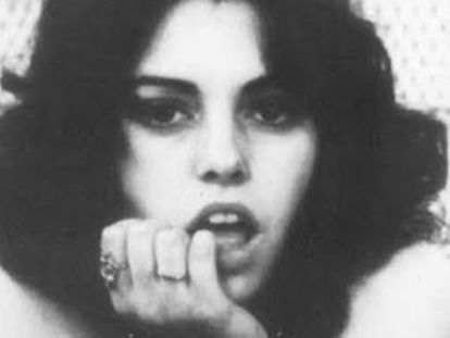La actriz Lina Romay.