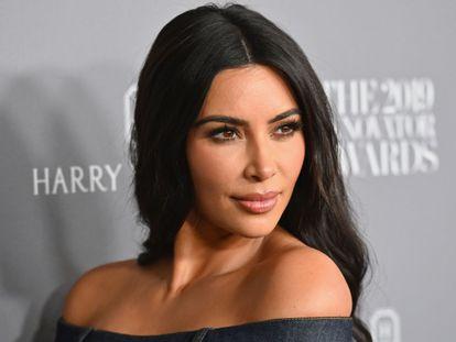 Kim Kardashian, en una imagen de 2019, durante la entrega de unos premios del Wall Street Journal en el MOMA de Nueva York