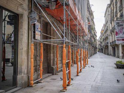 Viviendas en rehabilitación en Barcelona.