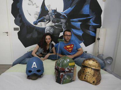 Jorge y Lucía, diseñadores de moda Cosplay.