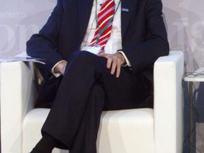 José María Álvarez-Pallete, nuevo consejero delegado de Telefónica, en una imagen de archivo.