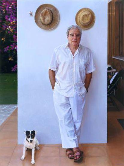 Juan Marse, con Trini, de 2009.
