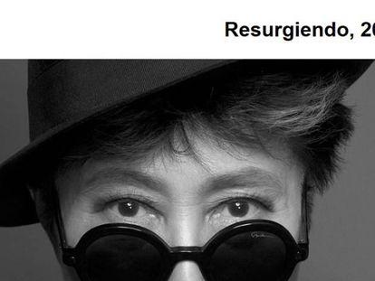 Resurgiendo: Yoko Ono presentará en Buenos Aires una instalación con testimonios de violencia machista