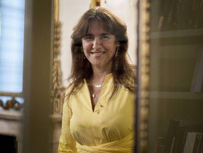Laura Borràs, el pasado julio.