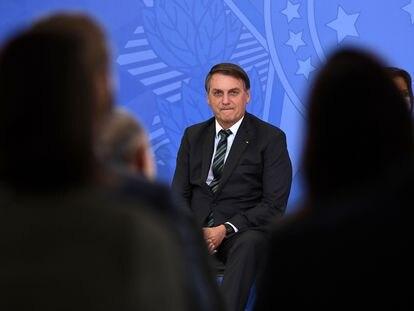 Jair Bolsonaro, presidente de Brasil, durante un evento en Brasilia, el pasado 9 de febrero.