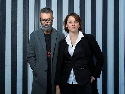 Marlango (Alejandro Pelayo y Leonor Watling), durante el ensayo del pasado martes.   Foto: Inma Flores