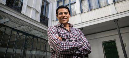 Nirav Tolia, presidente ejecutivo y cofundador de la 'app' Nextdoor, en Madrid.