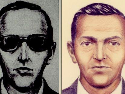 Foto de archivo de D.B. Cooper del FBI.