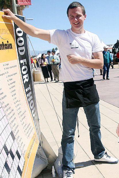 El sospechoso de cometer en ataque en Tucson, Jared Lee Loughner, en una imagen captada en marzo del pasado año en una feria literaria.