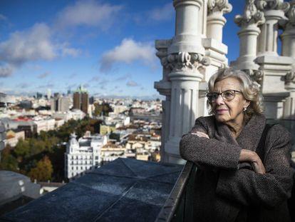 Manuela Carmena, el pasado noviembre.