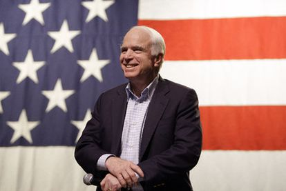 El senador John McCain, en junio pasado.