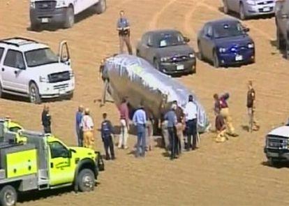 El globo toma tierra en Colorado tras varias horas de vuelo