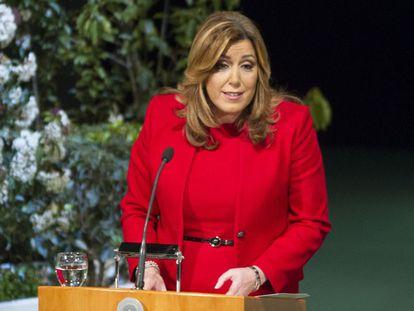 Susana Díaz defiende las Diputaciones y aboga por reformarlas