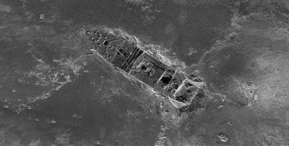 Imagen del Titanic realizada por sónar y compuesta por más de 100.000 fotos.