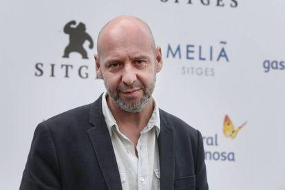 Jaume Balagueró, en la presentación en Sitges de su película 'Musa'.