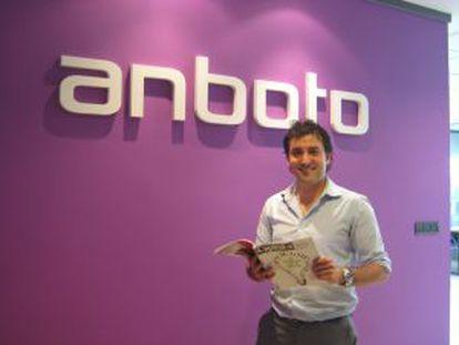 Xabier Uribe, fundador de Anboto