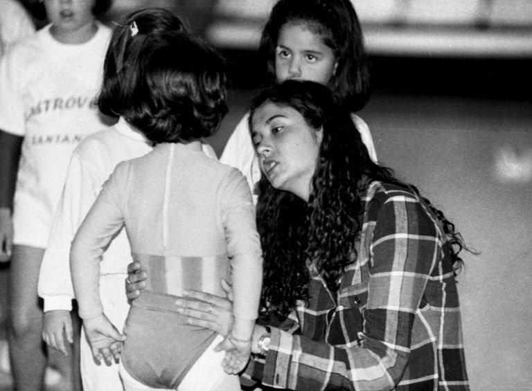 La gimnasta María Pardo.