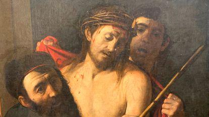 """El """"Ecce Homo"""", atribuido a Caravaggio. Imagen cortesía de Benito Navarrete, catedrático de Historia del Arte de la Universidad de Alcalá."""