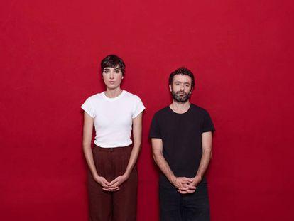 Isabel Peña y Rodrigo Sorogoyen, amigos y pareja de guionistas.